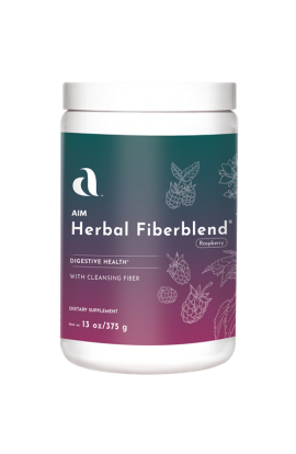 Herbal Fiberblend - 13 oz Natural Raspberry Powder