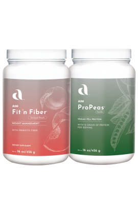 Lean Team - ProPeas and fit 'n fiber