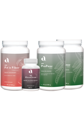 Weight Loss Pack - 2 ProPeas, 1 fit 'n fiber, and 1 GlucoChrom