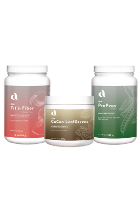 CoCoa Smoothie Pack - CoCoa LeafGreens, fit 'n fiber, and ProPeas