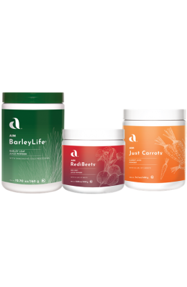 Garden Trio - BareyLife, Just Carrots, RediBeets Powder