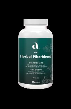Herbal Fiberblend 280 Vegan Capsules - 6 Pack