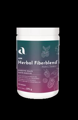 Herbal Fiberblend - 375 g Natural Raspberry Powder - 6 Pack
